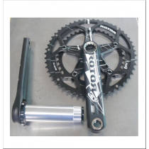 ROTOR Chainset 3DF 53/39T BCD130 172.5mm w/o BB Black