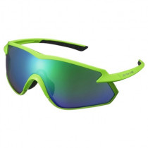 SHIMANO Sunglasses  S-Phyre X OPTIMAL Green/Lens Green (SHECESPHX1PLE08)