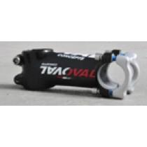 OVAL Stem R900 Carbon 25.4mmx6°x100mm Polished Black