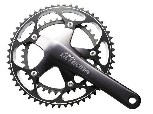 SHIMANO Crankset Ultegra - FC6601 - 39/53 - 10sp - 175mm Grey (C3300179-175)