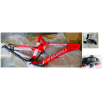 "CANNONDALE Frameset TRIGGER 27.5"" Red + Rear shock Size L"
