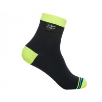 DexShell Socks Ultralite Biking BlaHivis Yellow Size S (DS642_S)