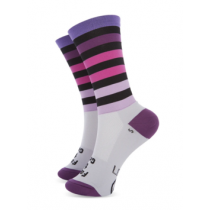 SAKO7 Socks MONDRIAN FADE TO GREY Size L