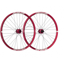"SPANK Wheelset SPIKE RACE 33 27.5"" Disc BOOST (20x110mm / 12x150mm) Red (C08R3312240ASPK)"