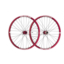 "SPANK Wheelset OOZY TRAIL 345 27.5"" Disc (15x100mm / 12x142mm) Red (C08OT342140ASPK)"