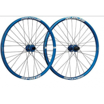 "SPANK Wheelset SPIKE RACE 28 27.5"" Disc (20x110mm / 12x135mm) Blue (C08SR282130ASPK)"