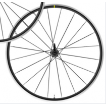 MAVIC 2020 REAR Wheel AKSIUM ELITE 700C Clincher 11Sp Shimano Black  (102120006)