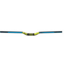 "ANSWER HandleBar ProTAPER 810 DH 31.8mm Rise 1/2"" Black/Cyan/Yellow (301-25073-C250)"