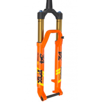 "FOX RACING SHOX 2020 Fork 34 FLOAT SC 29"" FACTORY 120mm FIT4 3Pos-Adj Kabolt 15x110mm Tapered Kashima Orange (910-20-725)"
