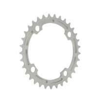 E-THIRTEEN Chainring GUIDERING 38T (4mm)  Silver Bullet Anodised (CR.38.S)