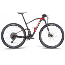 "SCAPIN COMPLETE BIKE GEKO 29"" CARBON - SHIMANO XT 12sp - FOX - Size S Black/Red"