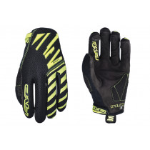 FIVE Pairs Gloves Enduro Air Fluo Yellow  Size S  (C0320033308)