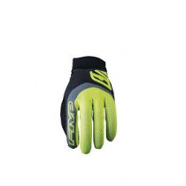 FIVE Pairs Gloves  XR-PRO FLUO Yellow Size M (C0120043309)