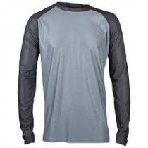 ROYAL Racing Jersey HERITAGE Long Sleeve Dark Blue / Gray Melange - S  (0067-38-520)