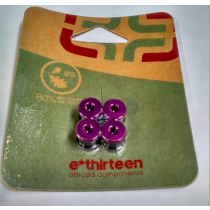 E-THIRTEEN Chainring Bolts Purple (CB.75.06.P)