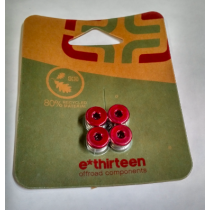 E-THIRTEEN Chainring Bolts Red (CB.05.06.R)