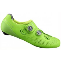 SHIMANO Road Shoes SH-RC901 Green  Size 45 (ESHRC901MCE01S45000)