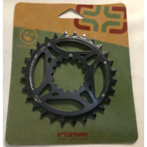 E-THIRTEEN Chainring Guidering 28T Black (CR2UNA-108)
