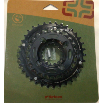 E-THIRTEEN Chainring Shiftring 24-34T Black (CR2UNA-106)