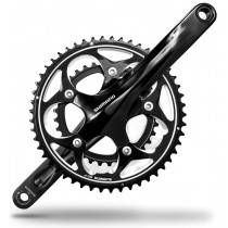 SHIMANO Chainset  FC-R565 10sp 50/34 w/o BB 175mm Black (AFCR565EX04L)