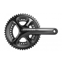 SHIMANO Chainset ULTEGRA FC-6800 2x11 34/50 170mm w/o BB Black (KFC6800CX04)