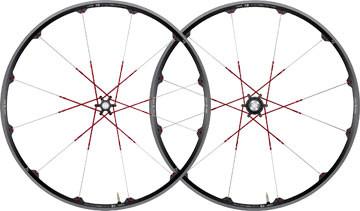 "CRANKBROTHERS 2013 Wheelset Cobalt 3 29"" Disc 6 holes Axle (9x100mm / 9x135mm) Black/red"