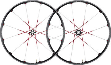 CRANKBROTHERS 2013 Wheelset Cobalt 3 Disc 6 holes Axle (9x100mm / 9x135mm) Black/red
