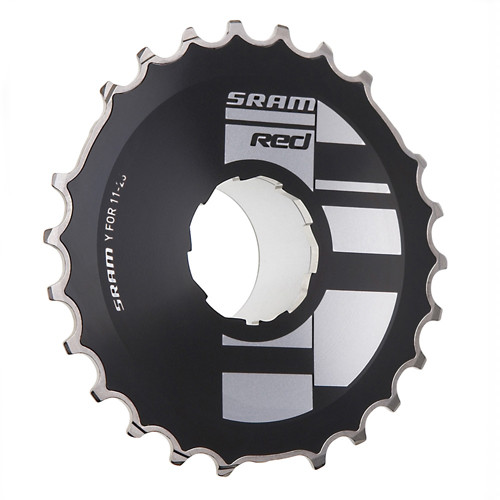 SRAM 2013 Road Cassette Red OG1090 Black Edition - 10sp 11-28 Silver (00.2415.019.060)