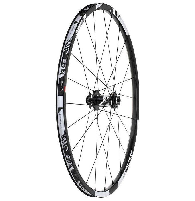 "SRAM FRONT Wheel  26"" RISE 40 Disc 6-bolts 9x100mm Black/White (00.1915.082.050)"