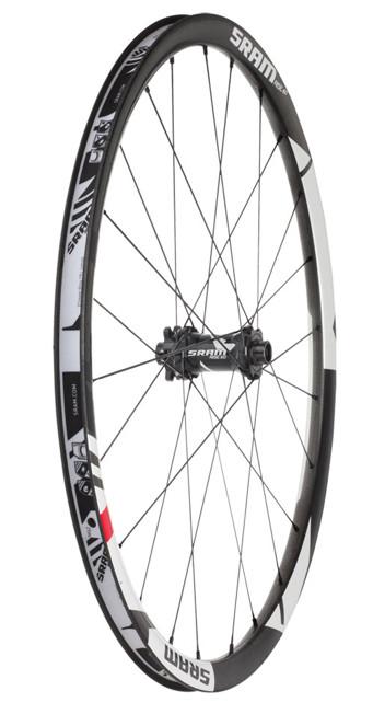 SRAM 012 Wheel Rise 60 Carbon FRONT 6-bolts 9x100mm Black/White (00.1915.219.010)