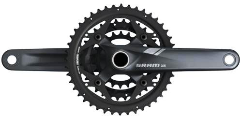 SRAM 2013 Chainset X5 3.3 10Sp 44/33/22 175mm Black GXP (00.6115.543.090)