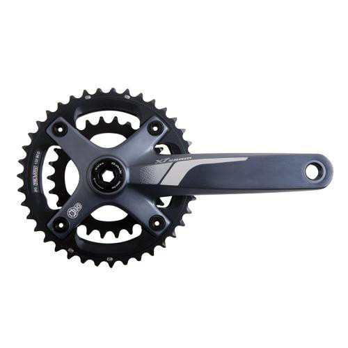SRAM 2013 Chainset X7 10sp 2x10 28/42 BB30 170mm Grey (00.6115.542.020)