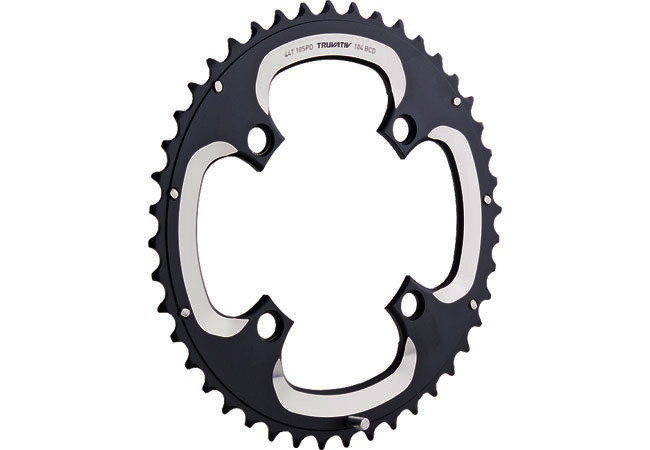TRUVATIV 2013 Chainring S1 10sp BCD 104mm 44T S-Pin Black (11.6215.188.210)