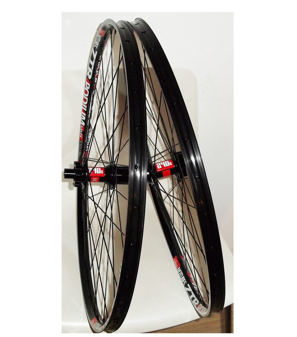 NOTUBES 2013 Wheelset ZTR Podium MMX / DT 240s Disc 6 bolts (15x100mm / 12x142mm) Black