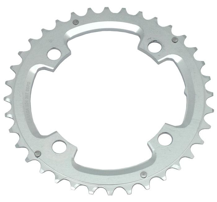 RACEFACE 2013 Chainring 36T BCD 104 9-Speed Silver (RR104X36)
