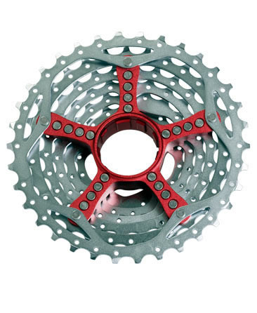 SRAM 9 Speed Cassette PG990 Red 11-34 (00.2415.039.090_CH)