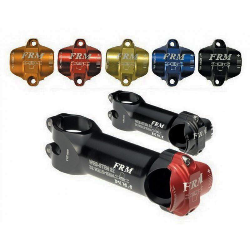 FRM Web-Stem 32 Ti - 31.8x130mm - Black/Red (FRM-0275-BR130)