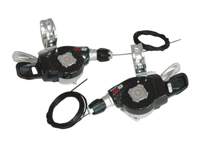 SRAM Pair Trigger X0 9 Speed 3x9 Carbon Black (00.7015.040.000)
