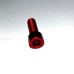RCZ Alloy Bolt Super Light M5x15 Red