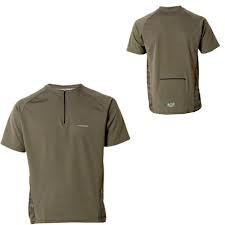 ROYAL Jersey Java Trail Short Sleeves - Olive - M (0004-10-530)