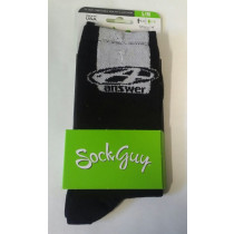 "ANSWER Socks G2 6"" Black Size S/M (30-21159)"