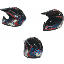 SHOCK THERAPY Helmet Full Face Joker Composite Black Size S/M (80092/J/SM)