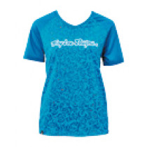 TROY LEE DESIGNS Women's Jersey SKYLINE Evil Turquoise Size S (A3116231.S)