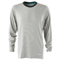 YETI Jersey TURQ Air Long Sleeve Light Grey Size S (A2618548.S)
