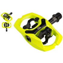ISSI Pair Pedals Trail III Hi-Vis Yellow (PD2754)