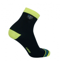 DexShell Socks Ultralite Biking BlaHivis Yellow Size L (DS642_L)