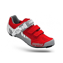 SUPLEST Shoes STREETRACING SupZero Buckle Red/White Size 42 (01.023.42)