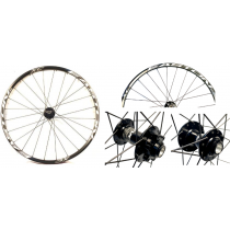 "EASTON FRONT Wheel XC 26"" Disc (15x100mm) Black/White"