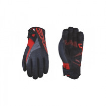 FIVE Pairs Gloves WP-WARM ((RC-W1) Red/ Back Size L (C0618010310)