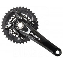 SHIMANO Chainset FC-M627-B 2x10 Boost 36/22T 175mm w/o BB Black (115.17022)